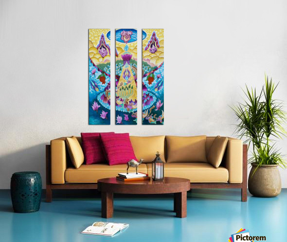 1999 026 Split Canvas print