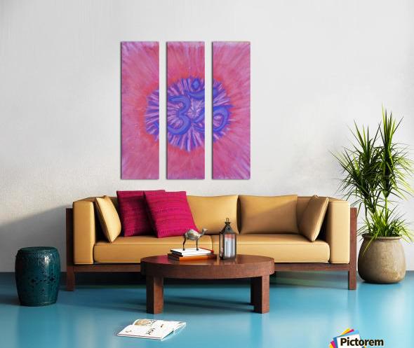 Om pink purple spring 2020 Split Canvas print