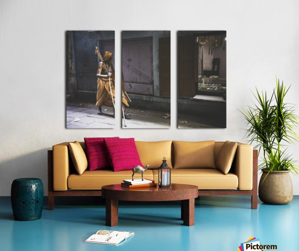 Varanasi Window - Walker Split Canvas print