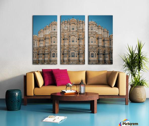 The Fortress - Hawa Mahal Split Canvas print