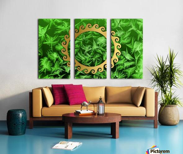 Elegant home decoration room design Split Canvas print