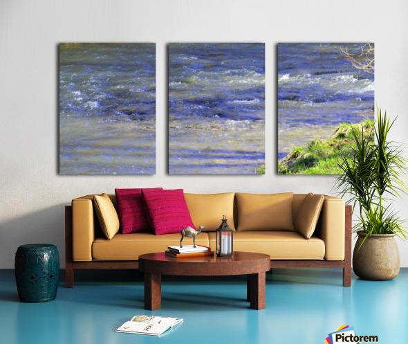 Calming waters Split Canvas print