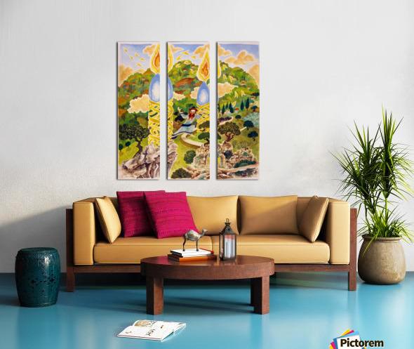 1989 023 Split Canvas print