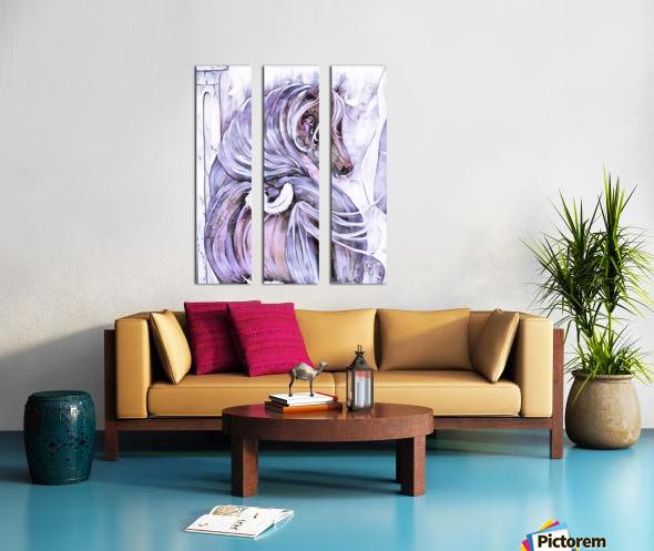 Emotion 2 Split Canvas print