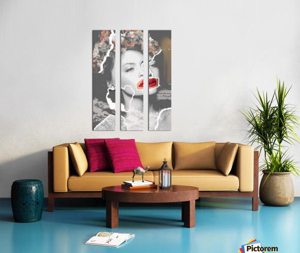Rosie Split Canvas print