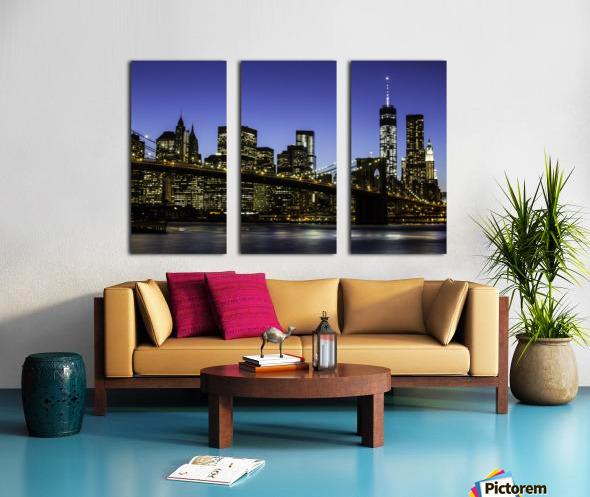 NY City Lights  Split Canvas print