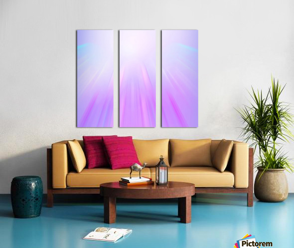 Purple Angel Split Canvas print