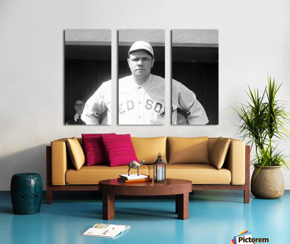 1919 Babe Ruth  Split Canvas print