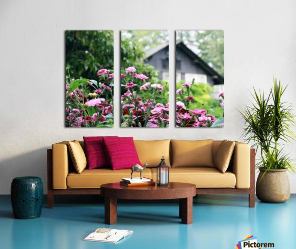 Cottage Split Canvas print