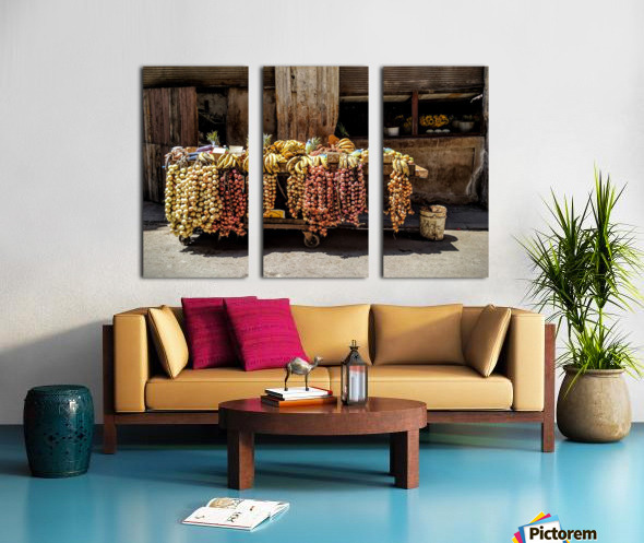 Fruits Split Canvas print