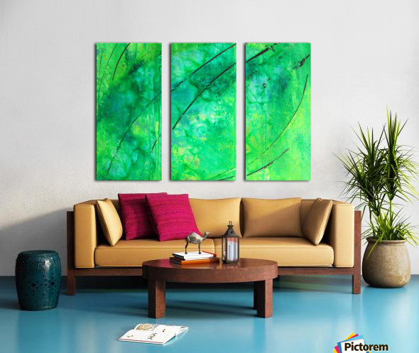 2020-2 Split Canvas print