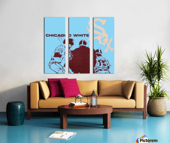 Chicago White Sox Baseball Poster Fine Art Split Canvas print