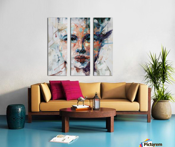 ALUCINACIONES Split Canvas print