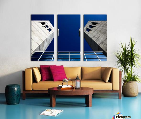 LightandDark Split Canvas print