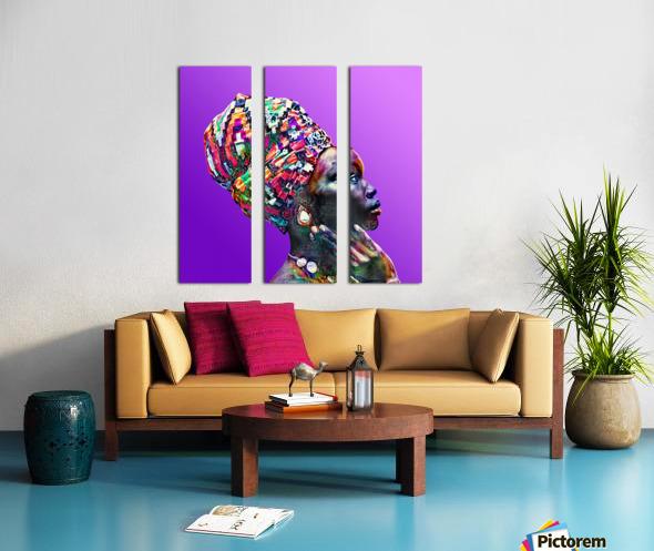 ColorThroughCulture VI Split Canvas print