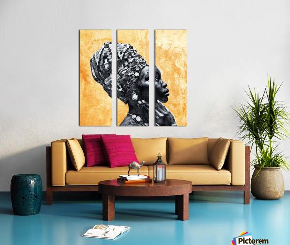 Color Through Culture II Split Canvas print