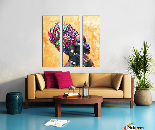 Color Through Culture I Split Canvas print