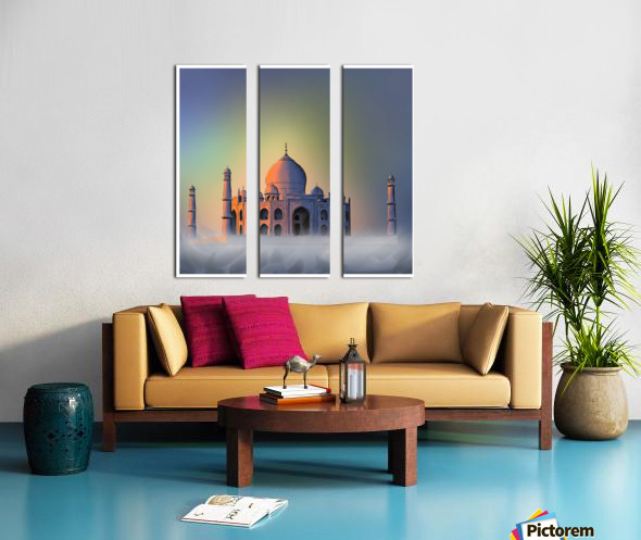 TAJ MAHAL Split Canvas print