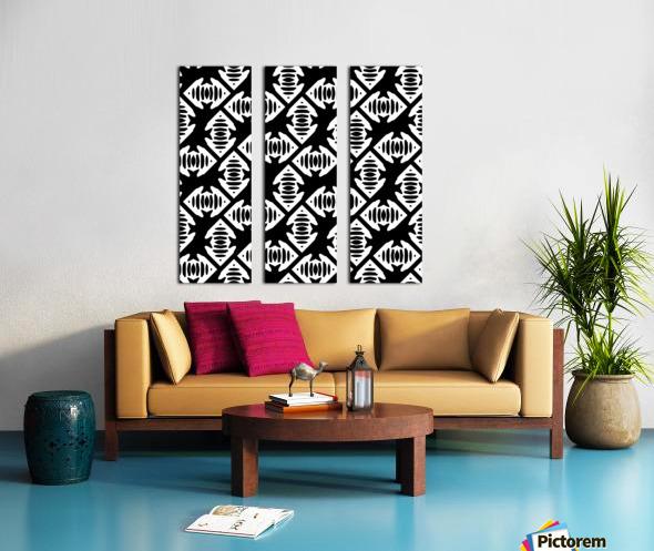 backgroundpattern Split Canvas print