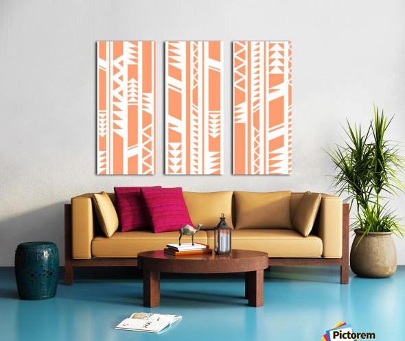 tribal pattern Split Canvas print