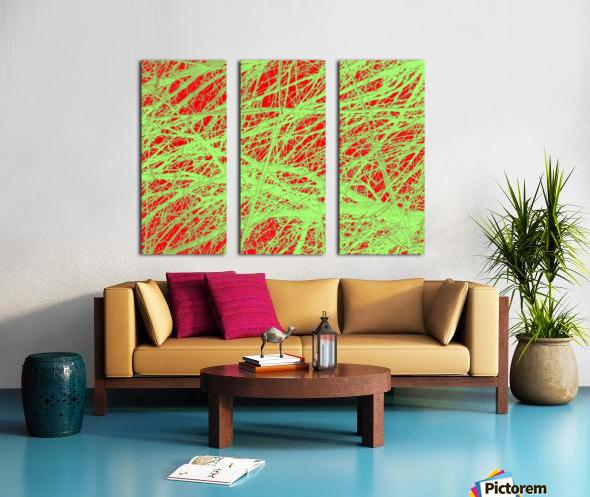 Tree-Line Drawing Split Canvas print