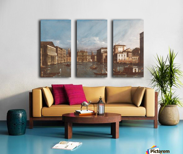 Arno in Florence Split Canvas print