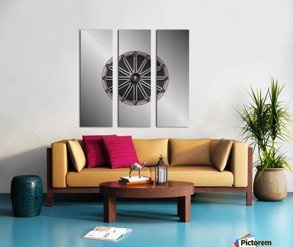 Altered Carbon Fusion Split Canvas print