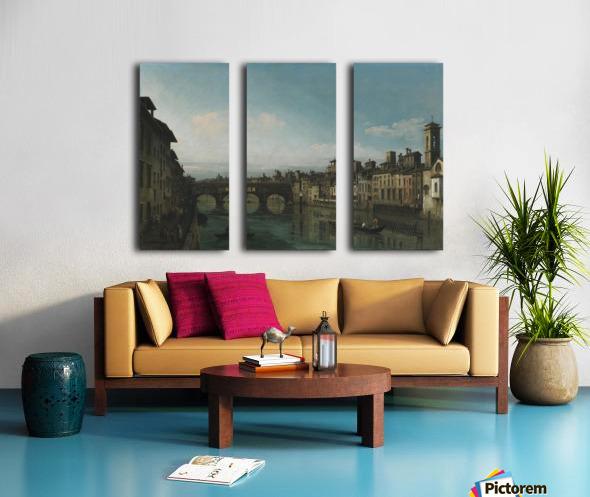 City of Florence Split Canvas print