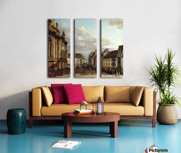 Staatliche Kunstsammlungen Dresden Split Canvas print