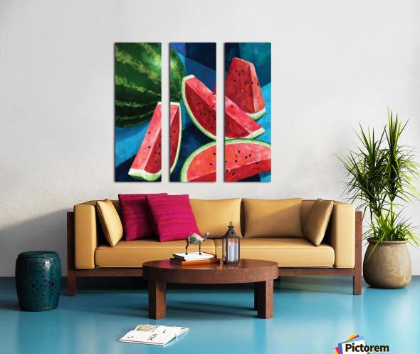 SANDIAS Split Canvas print