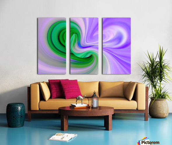 DISTORSION 2 Split Canvas print