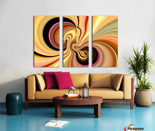DISTORSION 3 Split Canvas print