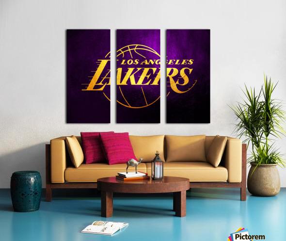 Lakers Split Canvas print