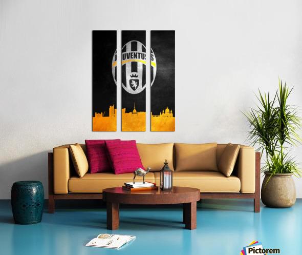 Juventus Split Canvas print