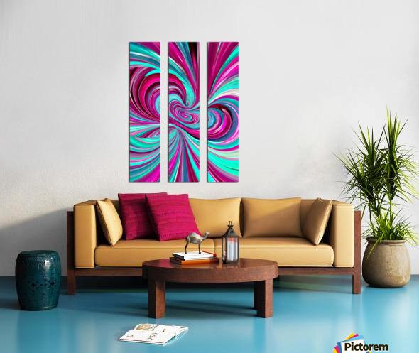 PERSPECTIVES 1B Split Canvas print