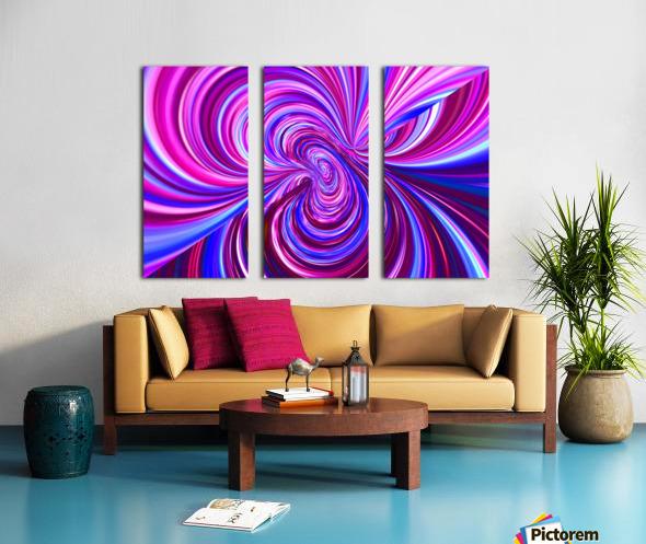 PERSPECTIVES 5D Split Canvas print