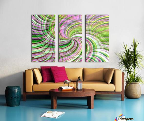 WHIRLWIND 1 Split Canvas print