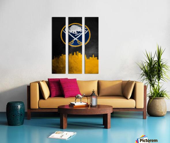 Buffalo Sabres 2 Split Canvas print