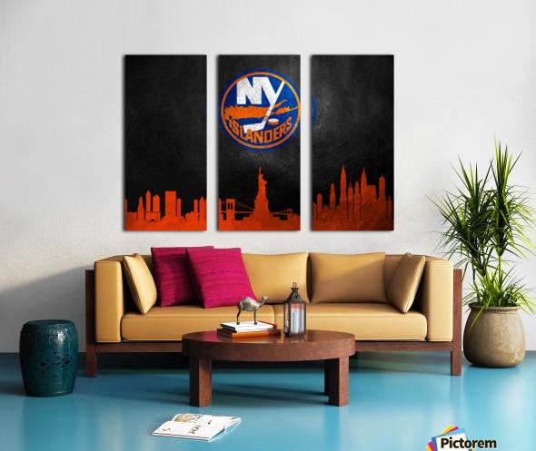 New Jersey Islanders Split Canvas print