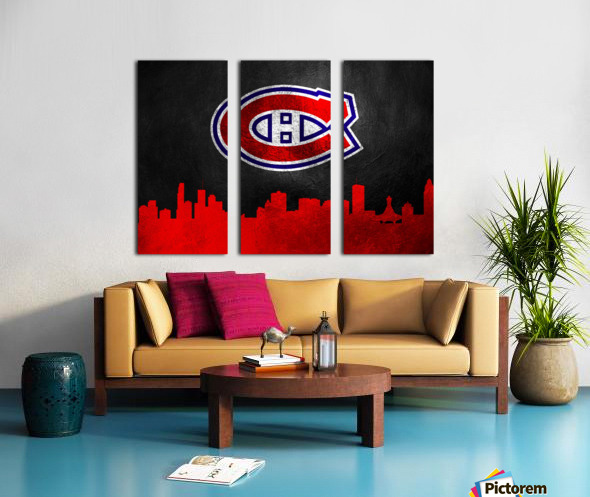 Montreal Canadiens Split Canvas print