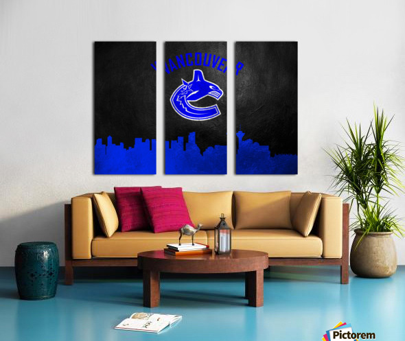 Vancouver Canucks Split Canvas print