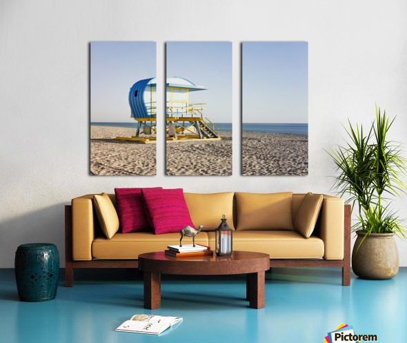 Miami Beach 105 Split Canvas print