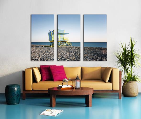 Miami Beach 075 Split Canvas print
