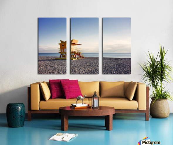 Miami Beach 058 Split Canvas print