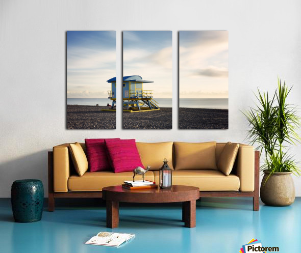 Miami Beach 030 Split Canvas print