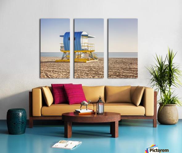 Miami Beach 117 Split Canvas print