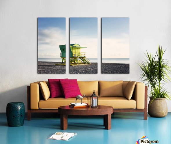 Miami Beach 048 Split Canvas print