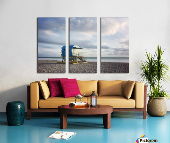 Miami Beach 042 Split Canvas print