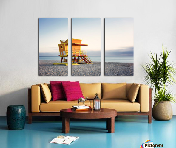 Miami Beach 0280 Split Canvas print
