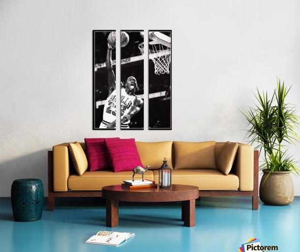 Michael Jordan Art Print Split Canvas print